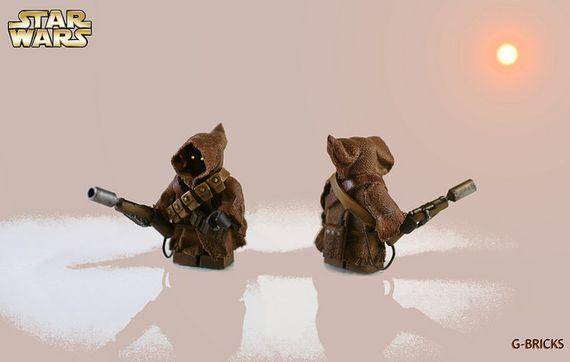 LEGO Star Wars Jawa Custom Minifigure