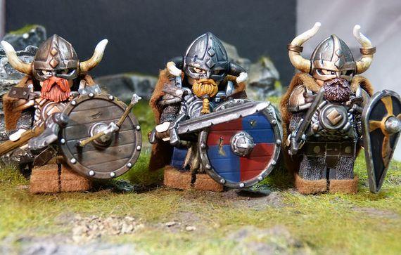 Viking Horde Custom Minifigures