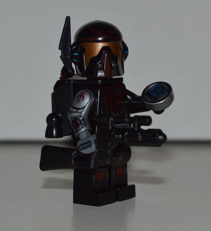 Star Wars Bounty Hunter Custom Minifigure
