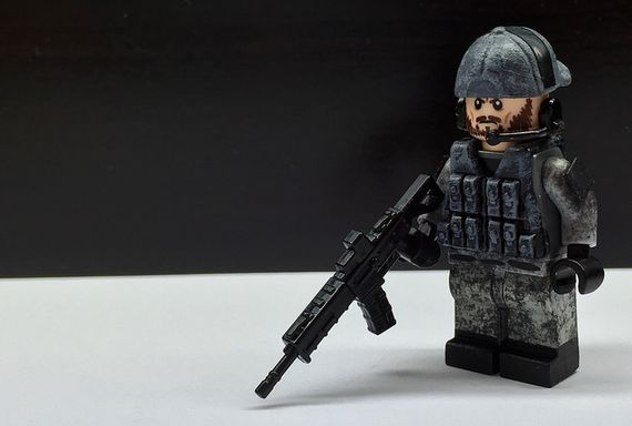 Lightweight Urban PMC Custom Minifigure