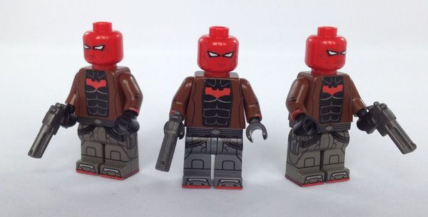Red Hood BrickUltra Custom Minifigures