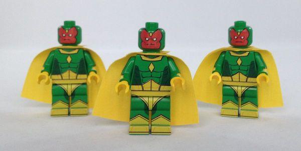 Vision BrickUltra Custom Minifigures