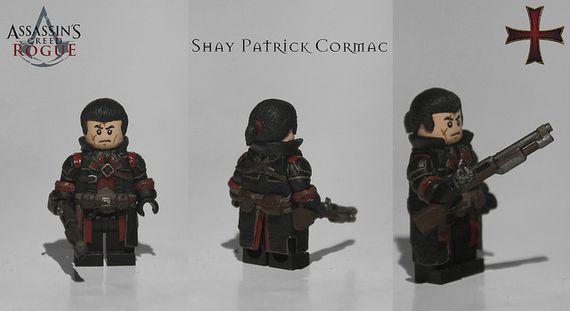 Assassins Creed Rogue Shay Patrick Cormac Custom Minifigure
