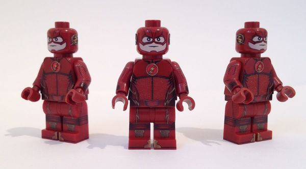 The Flash TV Series Custom Minifigure