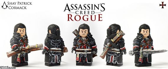Shay Patrick Cormack Assassin's Creed Rouge Custom Minifigure