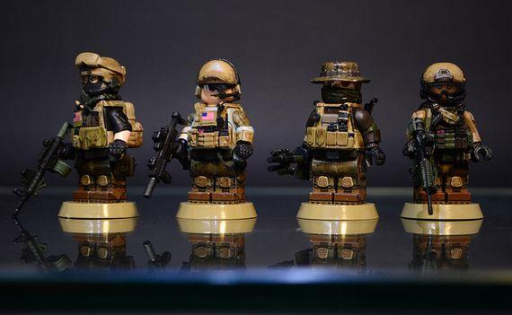 Battlefield 4 US Classes Custom Minifigures