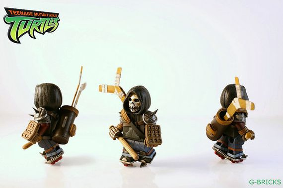 Casey Jones Teenage Mutant Ninja Turtles Custom Minifigure