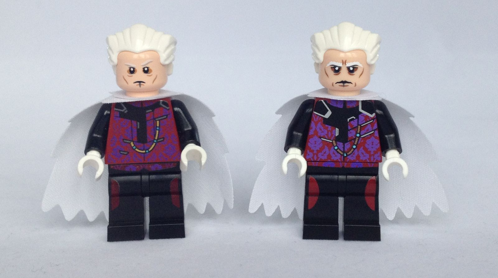 LEGO The Collector Minifigure Comparison