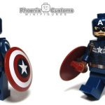 Phoenix Customs American Super Soldier Custom Minifigure