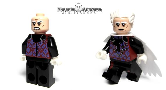 Phoenix Customs The Curator Custom Minifigure