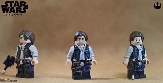 Star Wars Han Solo Custom Minifigure