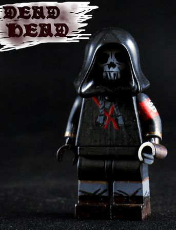 Deadhead Custom Minifigure