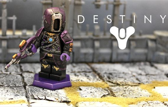 Destiny Warlock Voidwalker Custom Minifigure