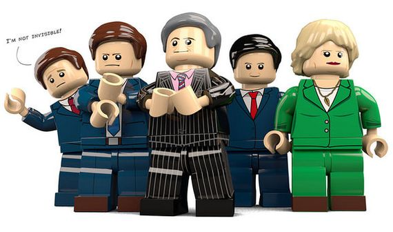 Political Custom Minifigures