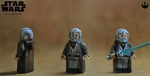Star Wars Ben Kenobi Custom Minifigure