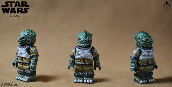 Star Wars Bossk Custom Minifigure