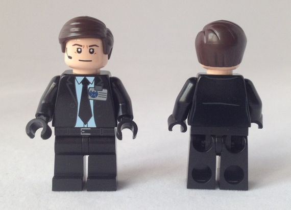 Agent Coulson MRM Custom Minifigure