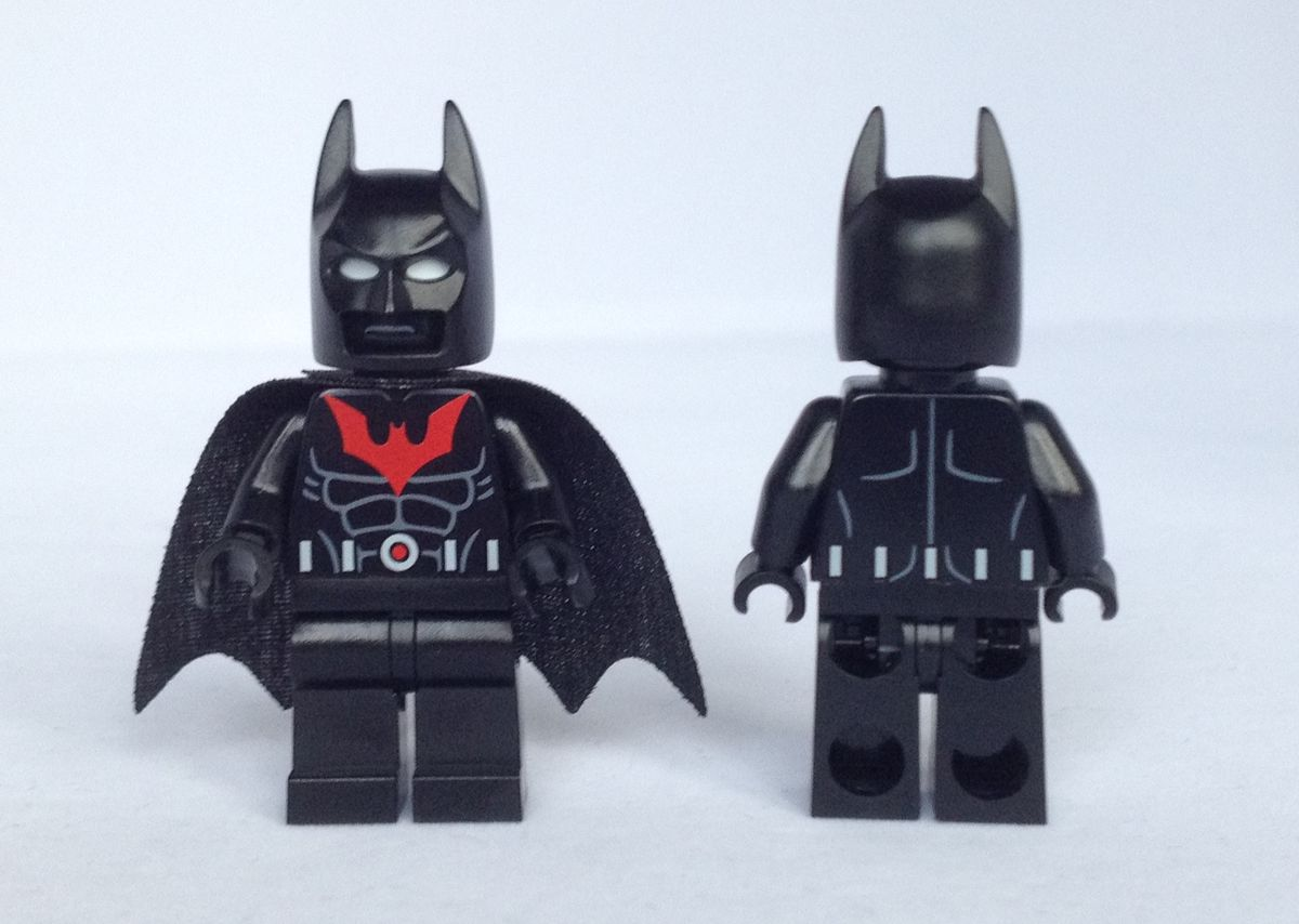 Batman Beyond Christo Custom Minifigures