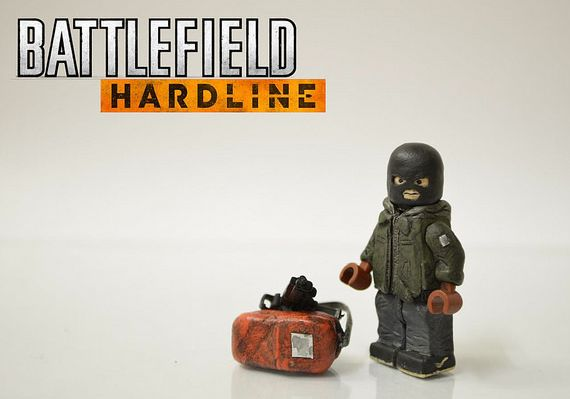 Battlefield Hardline The Heist Custom Minifigure