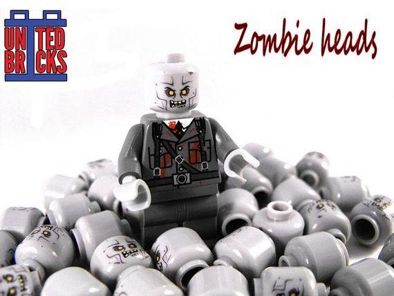 United Bricks Zombie Heads
