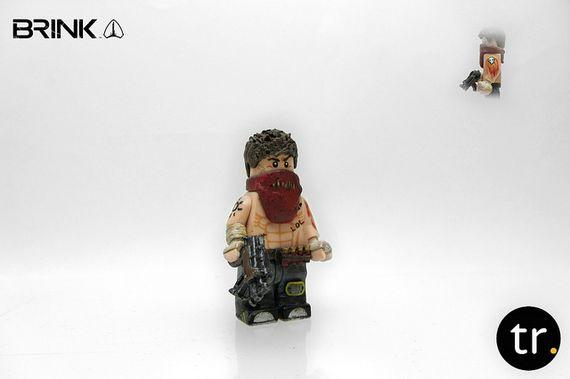 Resistance Brink Custom Minifigure