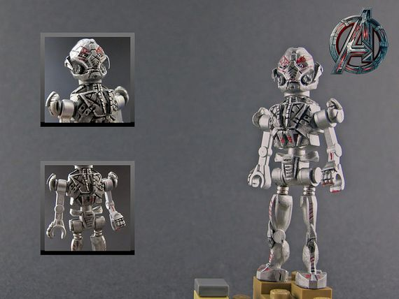 Age of Ultron: Ultron Prime Custom Minifigure