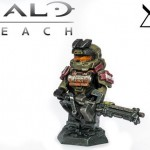 Halo Reach Jorge Custom Minifigure