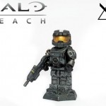 Halo Reach Noble Six Custom Minifigure