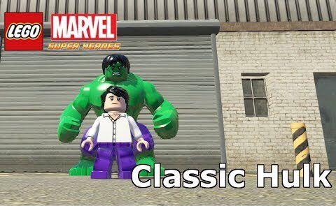Classic Bruce Banner & Hulk