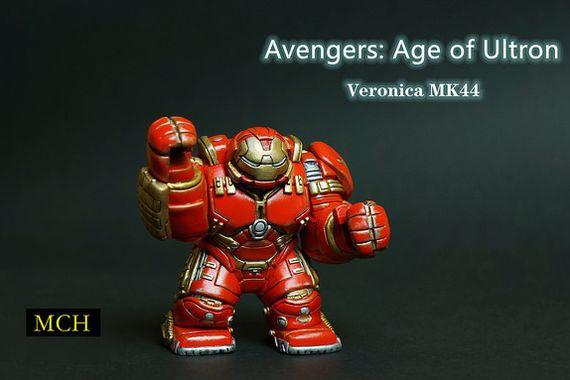 Iron Man Hulbuster Custom Minifigure