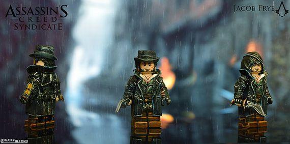 Jacob Frye Assassins Creed Syndicate Custom Minifigure