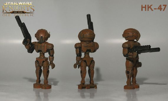 Star Wars Knights of the Old Republic HK-47 Custom Minifigure