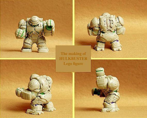 The Making of Hulkbuster