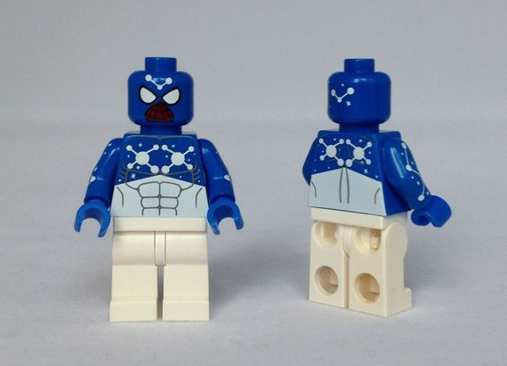 Blue Cosmic Spider-Man Custom Minifigure