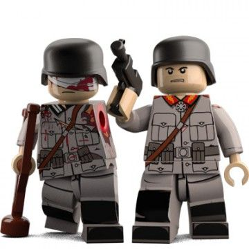 Collateral Carl Custom Minifigure