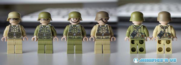 Minifigs R Us Afrika Korps