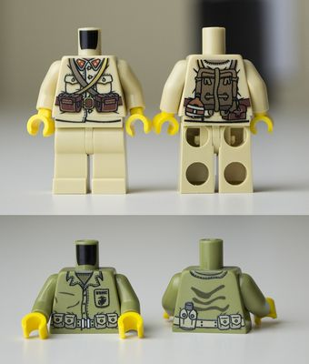 Minifigs R Us Japanese and Marines