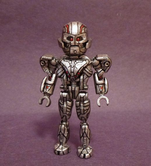 Ultron Prime V2 Custom Minifigure