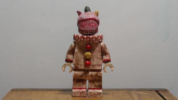 American Horror Story Freak Show Twisty Custom Minifigure