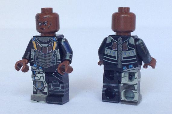 Deathlok BrickUltra Custom Minifigure