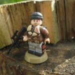 Metro 2033 Bourbon Custom Minifigure