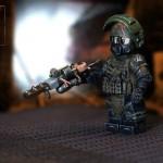 Metro Heavy Ranger Custom Minifigure