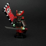 Samurai Demon Custom Minifigure