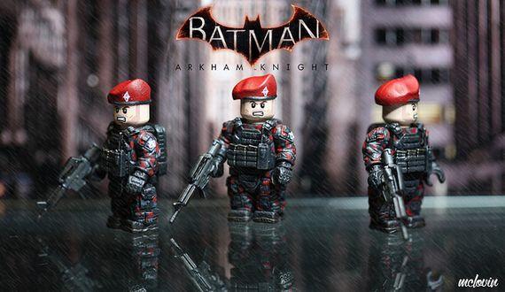 Arkham Knight Militia Custom Minifigure