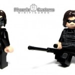 Cold War Assassin Custom Minifigure – Phoenix Customs
