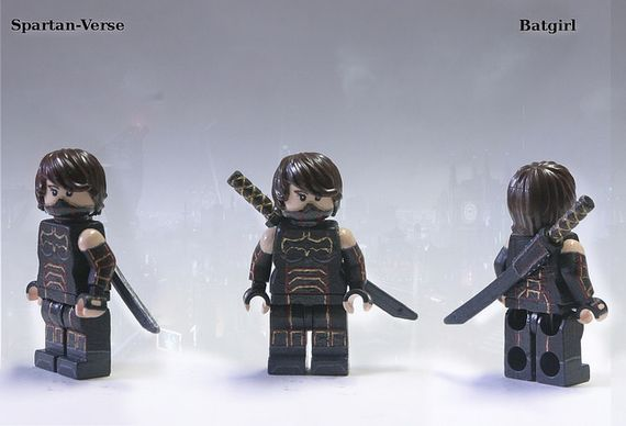 Spartan Verse Batgirl Custom Minifigure