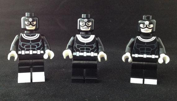 Bullseye Custom Minifigures