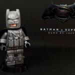 Dawn of Justice Armoured Batman Custom Minifigure