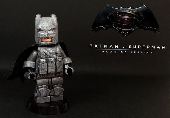 Dawn of Justice Armoured Batman Custom Minifigure