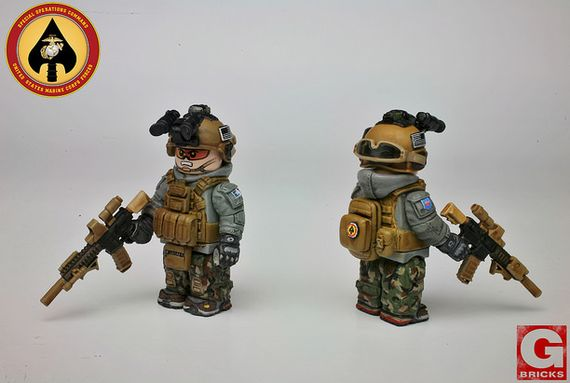 MARSOC Custom Minifigure